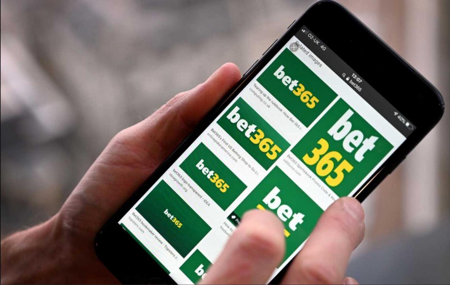 Programme de bonus mobile Bet365